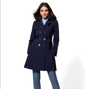 New York & Co Belted Trench Coat